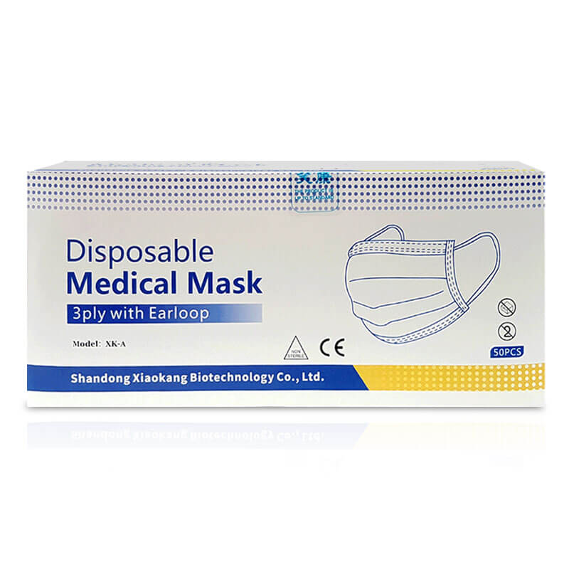 Disposable Medical Mask 3ply with Earloop