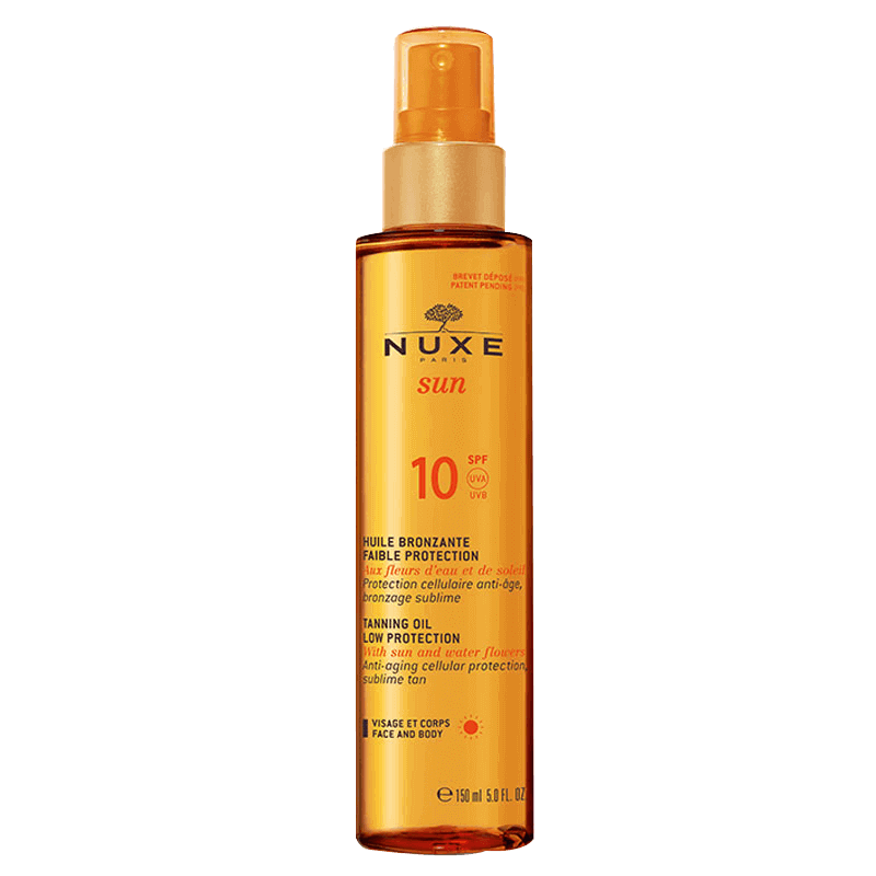 Suntan Oil Spf10  150ml/17